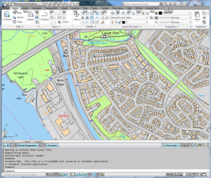 Image showing VML in DWG in AutoCAD