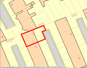 Digimap maps must not be used in planning applications