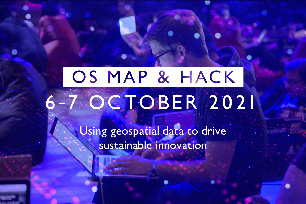 OS Map and Hack advertising image